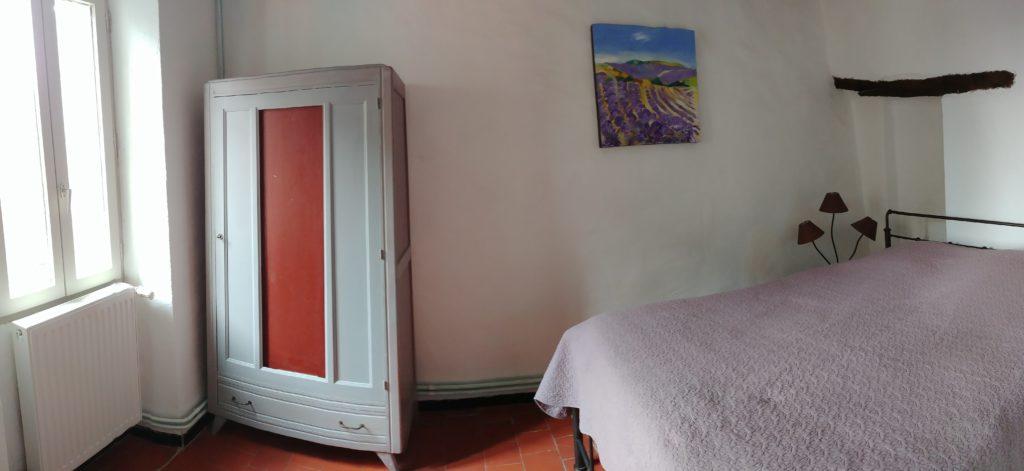 Gite Sault Ventoux chambre d'hôte violette